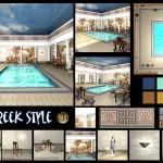 Greek Style Title Page